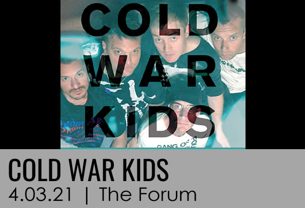 Cold War Kids Concert